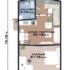 Проект дома из сип панелей 128 м2 план 2 этажа