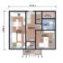 Проект дома из сип панелей 143 м2 план 1 этажа