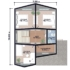Проект дома из сип панелей 144 м2 план 2 этажа