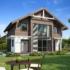 Проект дома из сип панелей 154 м2 вид спереди 2