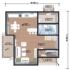 Проект дома из сип панелей 166 м2 план 1 этажа