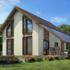 Проект дома из сип панелей 175 м2 вид сзади